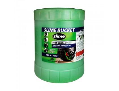 Антипрокольная жидкость для беcкамерок Slime, 19л | Veloparts