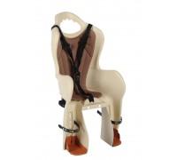Сидіння дитяче Longus Baseli Carrier Special Edition на багажник бежевий