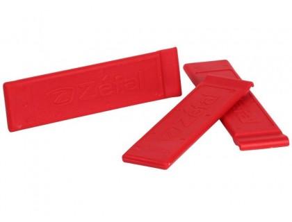 Бортувальна лопатка Zefal червона | Veloparts