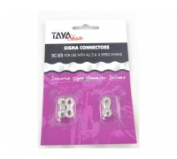 Замок для цепи TAYA SC-25 Silver/Silver 1/2x3/32