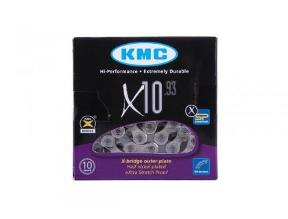 Ланцюг KMC X10 10 швидкостей із замком 114 ланок   Veloparts