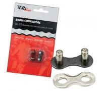 Замок для цепи TAYA SC-33 Black/Silver 1/2x1/8