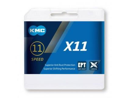 Ланцюг KMC X11 11 швидкости 114 ланок + замок | Veloparts