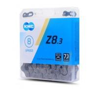Ланцюг KMC Z8.3 7/8 швидкостей 116 ланок + замок
