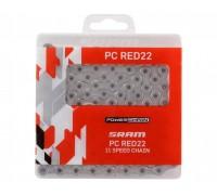 Ланцюг Sram PC червоний22 11 швидкостей