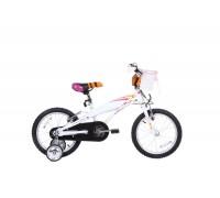 Велосипед дитячий Langtu KV01A(15) 16˝ Pearl/White + дитячий шолом