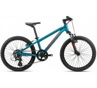 Дитячий велосипед Orbea MX 20 XC 20 блакитний-червоний