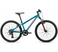 Підлітковий велосипед Orbea MX 24 XC 20 блакитний-червоний