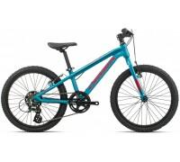 Дитячий велосипед Orbea MX 20 Dirt 20 блакитний-червоний