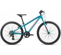 Підлітковий велосипед Orbea MX 24 Dirt 20 блакитний-червоний
