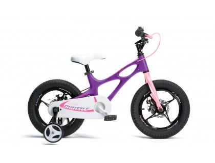 "Велосипед RoyalBaby SPACE SHUTTLE 16"", фиолетовый | Veloparts"