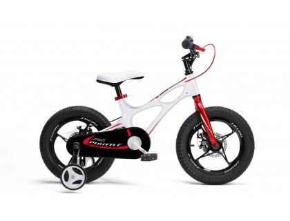 "Велосипед RoyalBaby SPACE SHUTTLE 16"", белый | Veloparts"
