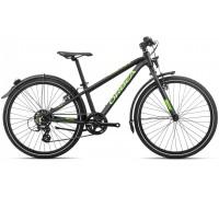 Підлітковий велосипед Orbea MX 24 Park 20 чорно-зелений
