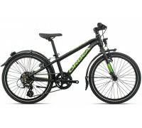 Дитячий велосипед Orbea MX 20 Park 20 чорно-зелений