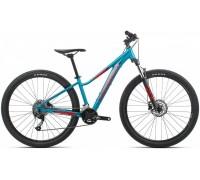 Підлітковий велосипед Orbea MX 27 ENT Dirt XC 20 XS блакитний-червоний