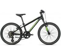 Дитячий велосипед Orbea MX 20 Speed 20 чорно-зелений