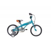 Велосипед дитячий Langtu KV01(15) 16˝ Blue + дитячий шолом