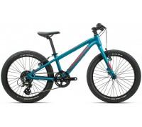 Дитячий велосипед Orbea MX 20 Team 20 блакитний-червоний