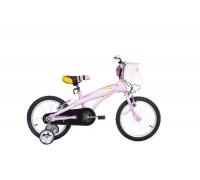 Велосипед дитячий Langtu KV01A(15) 16˝ Pearl/Pink