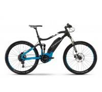 "Электровелосипед Haibike SDURO FullSeven 5.0 400Wh 27,5"", рама 44 см, черно-сине-белый матовый, 2018"