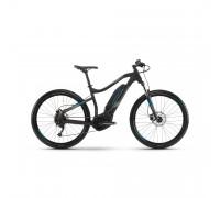 """Електровелосипед Haibike SDURO HardSeven 1.0 400Wh 27,5"""", рама L, чорно-сіро-синій матовий, 2019"""