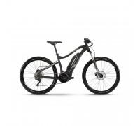 "Электровелосипед Haibike SDURO HardSeven 3.0 500Wh 27,5"", рама M, черно-серо-белый матовый, 2019"