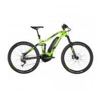 "Электровелосипед Haibike SDURO FullSeven LT 4.0 500Wh 27.5"", рама M, зелено-черно-серый, 2019"
