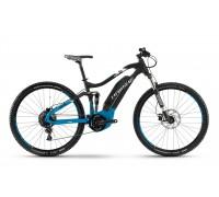 "Электровелосипед Haibike SDURO FullNine 5.0 400Wh 29"", рама 44см, черно-сине-белый матовый, 2018"