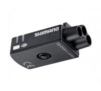 Передній порт-комутатор Shimano SM-EW90A для Di2 3 роз`єми внутрішній/зовнішній монтаж
