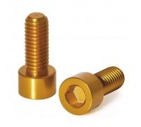 Болты для флягодержателя XLC BC-X02, 2шт, золотой