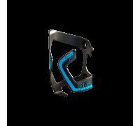 Фляготримач PRO з бічною заведення справа, чорно-синій