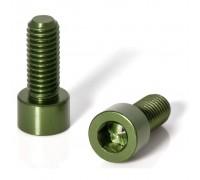 Болты для флягодержателя XLC BC-X02, 2шт, зеленый