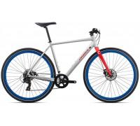 Велосипед Orbea Carpe 40 20 White-Red рама M (рост 170-180 см)