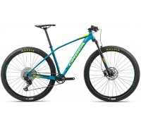 Велосипед Orbea Alma 27 H30 20 блакитний-жовтий рама M (рост 165-180 см)