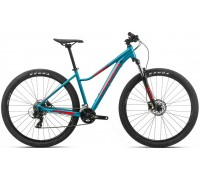 Велосипед Orbea MX 29 ENT 50 20 блакитний-червоний рама L (рост 180-190 см)