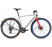 Велосипед Orbea Carpe 25 20 білий-червоний рама M (рост 170-180 см)