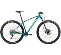 Велосипед Orbea Alma 27 H50 20 блакитний-жовтий рама M (рост 165-180 см)