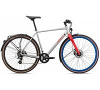 Велосипед Orbea Carpe 25 20 білий-червоний рама XL (рост 190-200 см)
