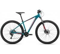 Велосипед Orbea MX 27 30 20 блакитний-червоний рама M (рост 165-180 см)