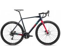 Велосипед Orbea Terra H40-D 20 блакитний-червоний рама M (рост 177-185 см)