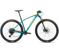 Велосипед Orbea Alma 27 H20-Eagle 20 блакитний-жовтий рама M (рост 165-180 см)