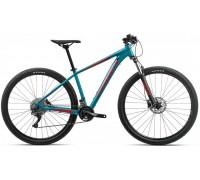 Велосипед Orbea MX 27 20 20 блакитний-червоний рама L (рост 178-190 см)