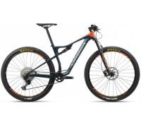 Велосипед Orbea Oiz 29 H30 20 блакитний-помаранчевий рама L (рост 178-190 см)