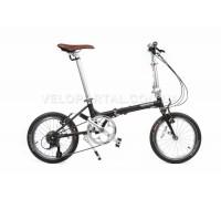 Велосипед складаний Langtu QY018 16˝ матовий чорний