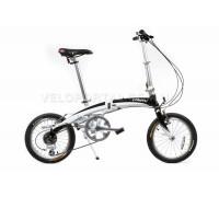 Велосипед складаний Langtu KW018 16˝ білий/чорний