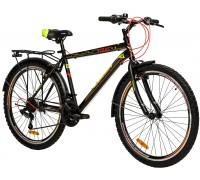 "Велосипед сталь Premier Texas 26 V-brake 18"" Black - Yellow"