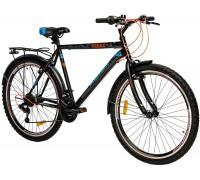 """Велосипед сталь Premier Texas 26 V-brake 20"""" Black - Blue"""