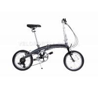 Велосипед складаний Langtu KW017(14) 16˝ сріблястий/чорний (Silver/Black)