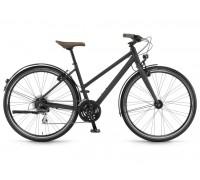 """Велосипед Winora Flitzer women 28"""", рама 41 см, черный матовый, 2019"""