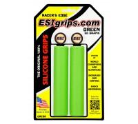 Грипсы ESI Racer's Edge Green